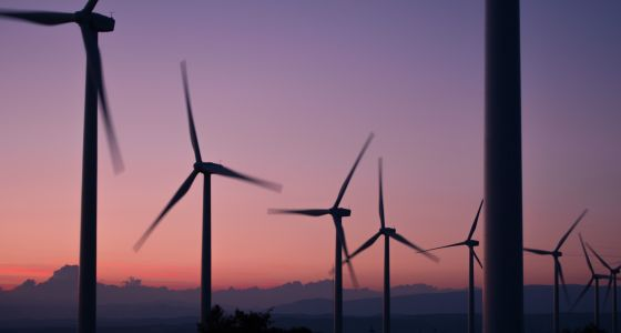 The wind power industry is growing fast, and already employs some 300,000 Europeans.